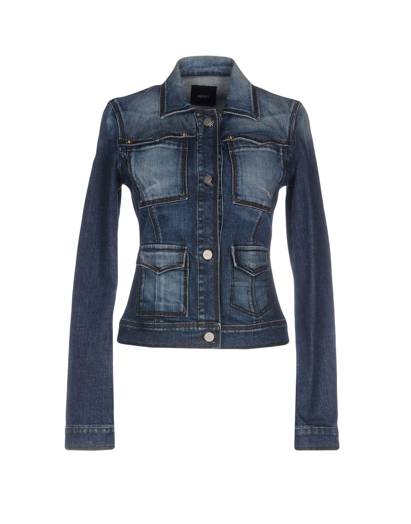 HUSKY Джинсовая верхняя одежда folk джинсовая верхняя одежда
