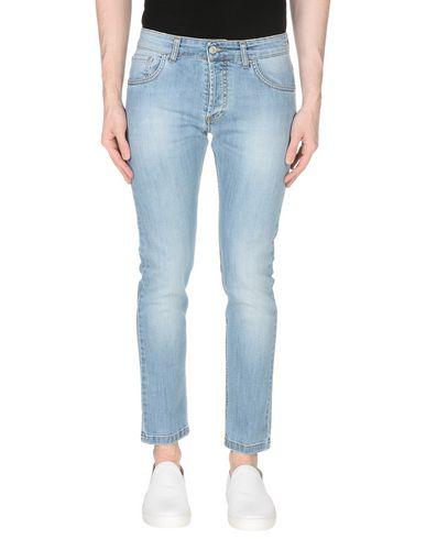 Фото - Джинсовые брюки от ENTRE AMIS синего цвета