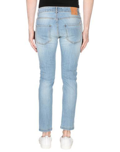 Фото 2 - Джинсовые брюки от ENTRE AMIS синего цвета