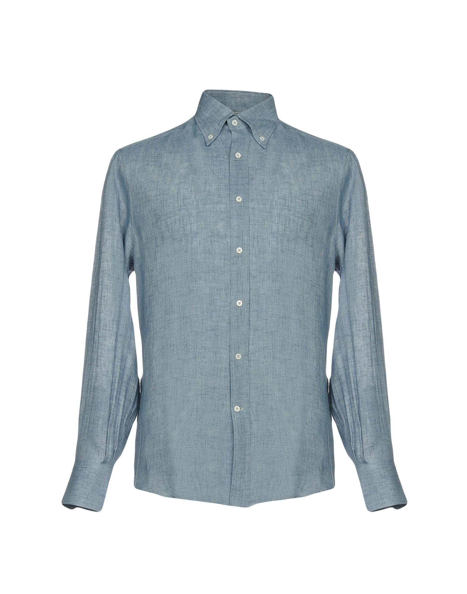цена на BRUNELLO CUCINELLI Джинсовая рубашка