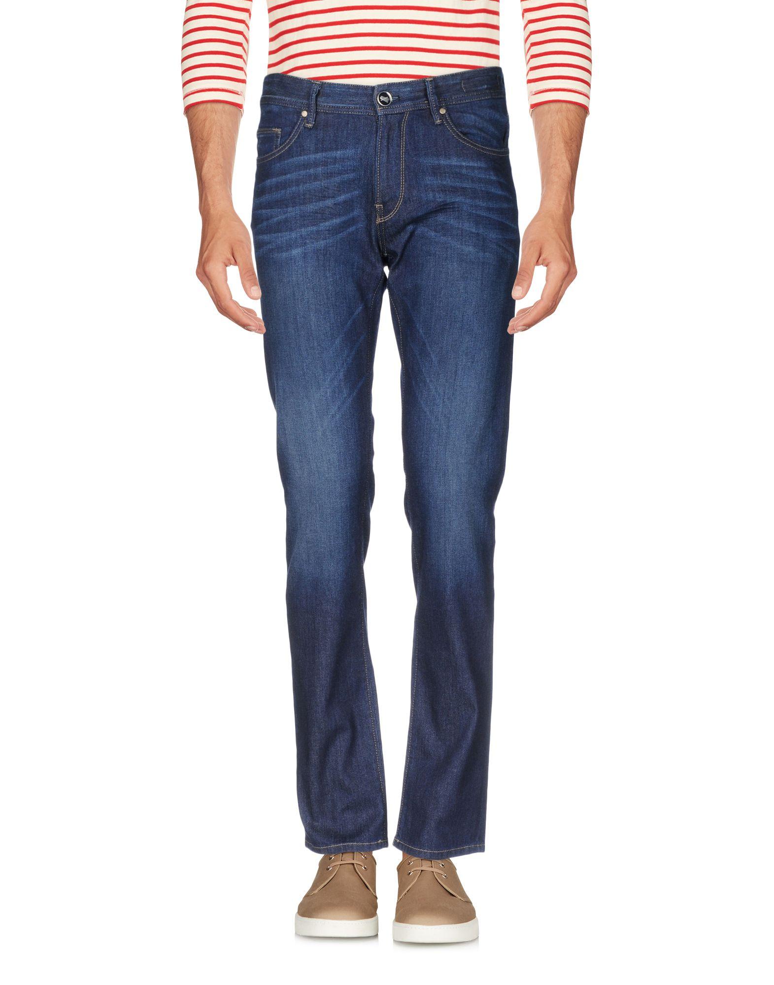 《送料無料》PT05 メンズ ジーンズ ブルー 32 コットン 92% / エメリー 6% / ポリウレタン 2%