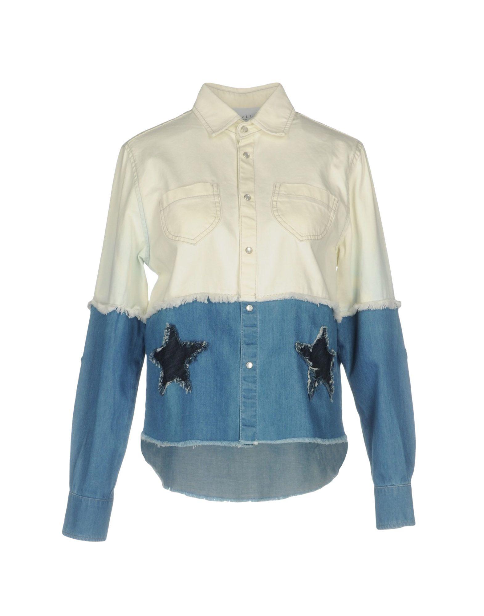 GAëLLE Paris Джинсовая рубашка