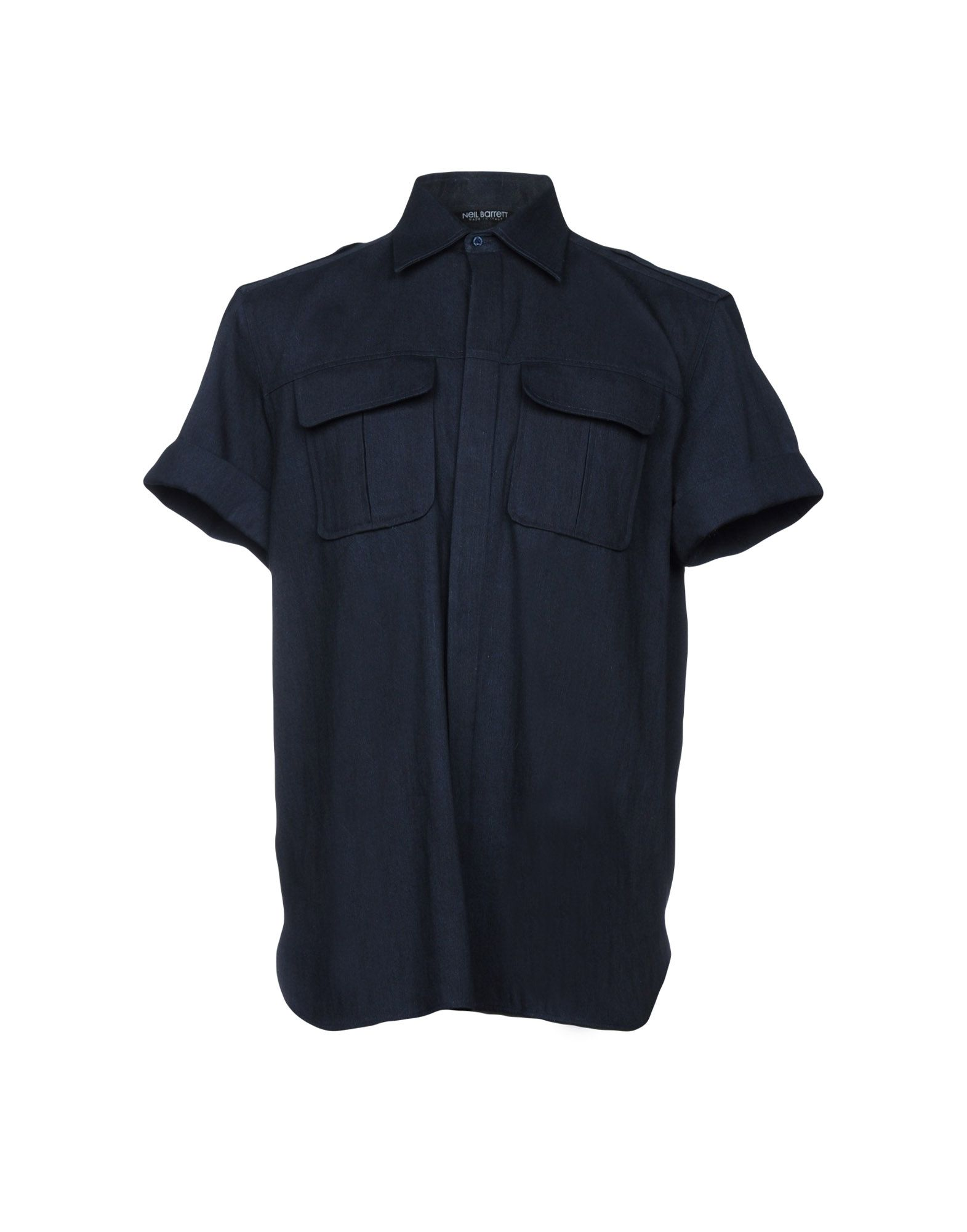 NEIL BARRETT Джинсовая рубашка neil barrett футболка