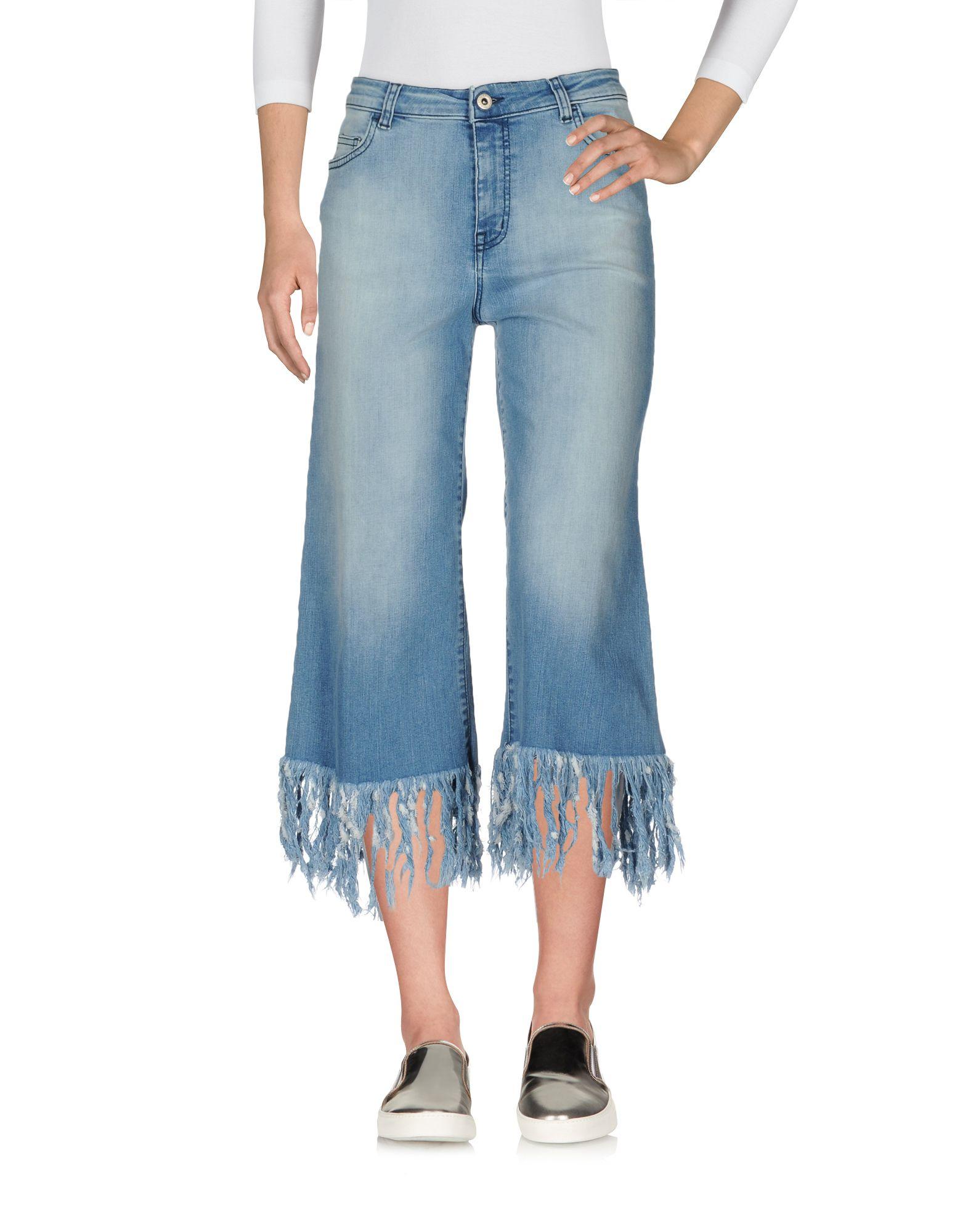 HAPPINESS Джинсовые брюки-капри брюки happiness брюки марокко