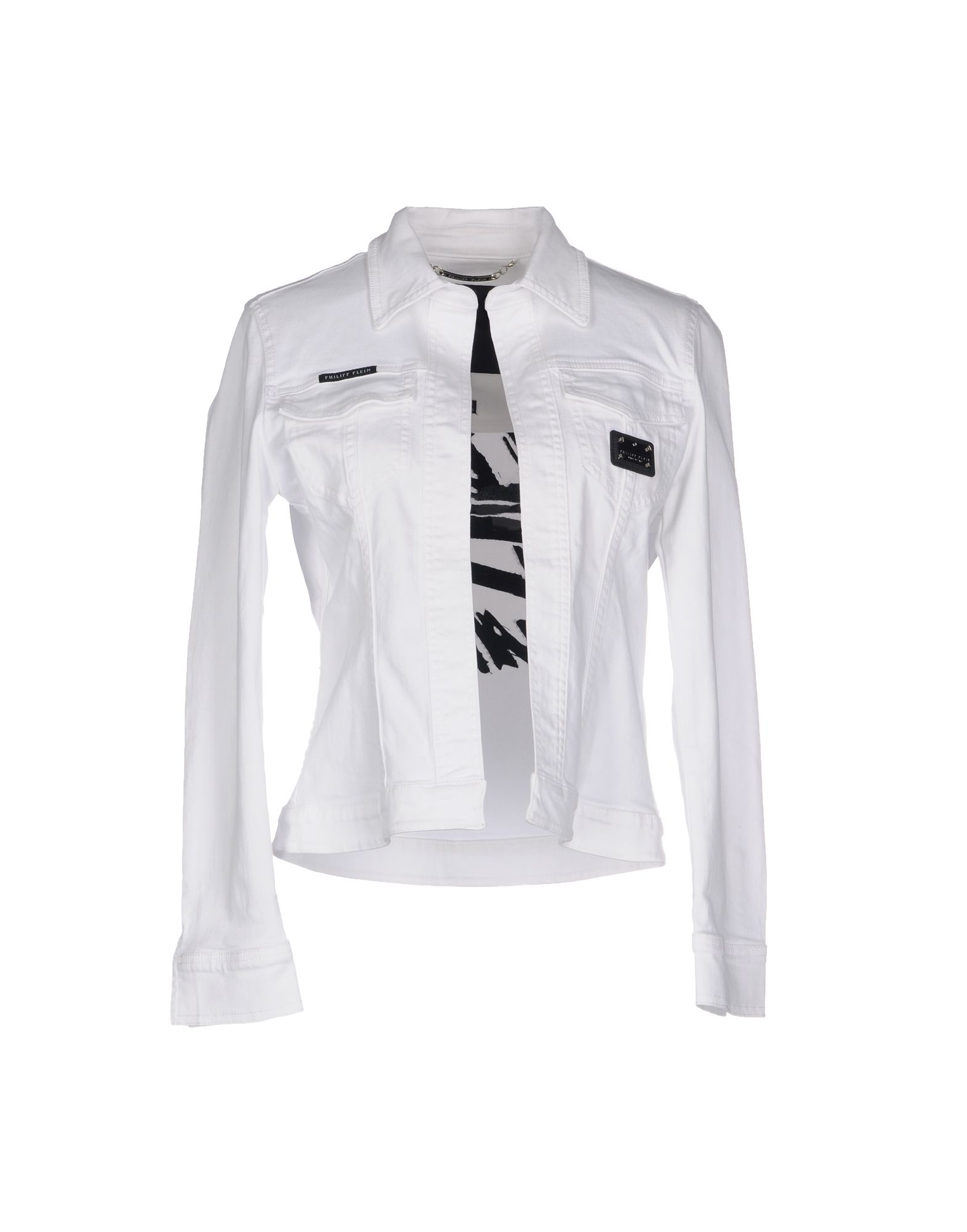 PHILIPP PLEIN Джинсовая верхняя одежда верхняя одежда