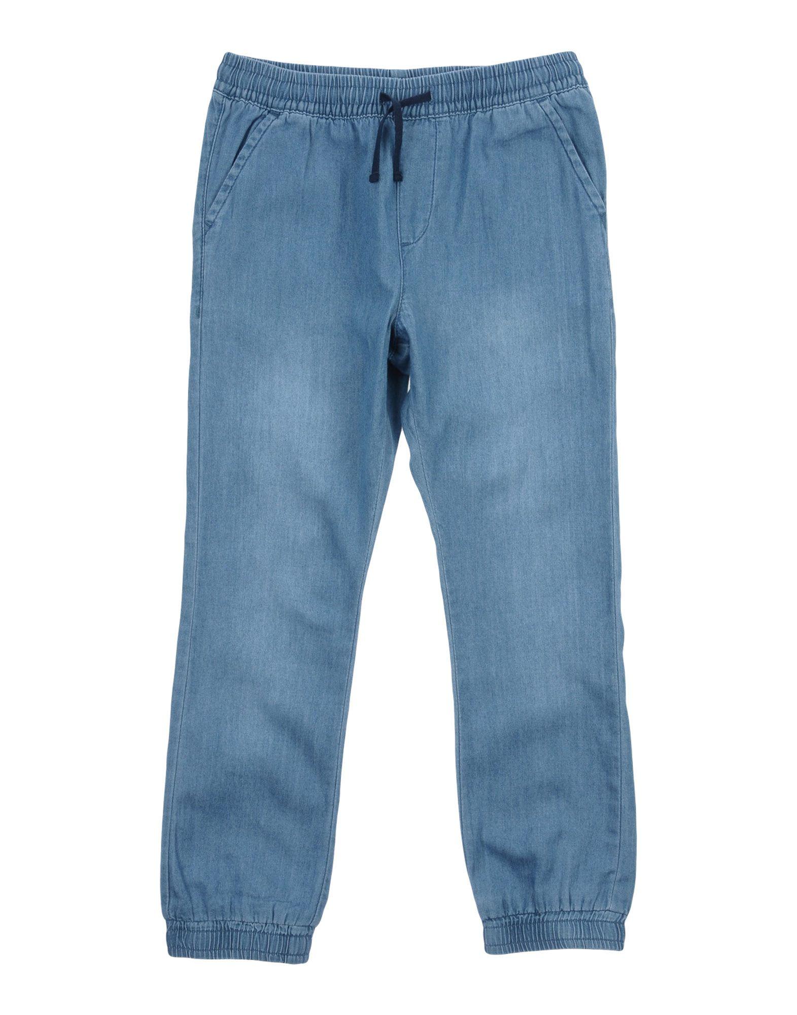 GUESS Джинсовые брюки брюки текстильные джинсовые для девочек 110 362110 синий деним ean 4690244732001
