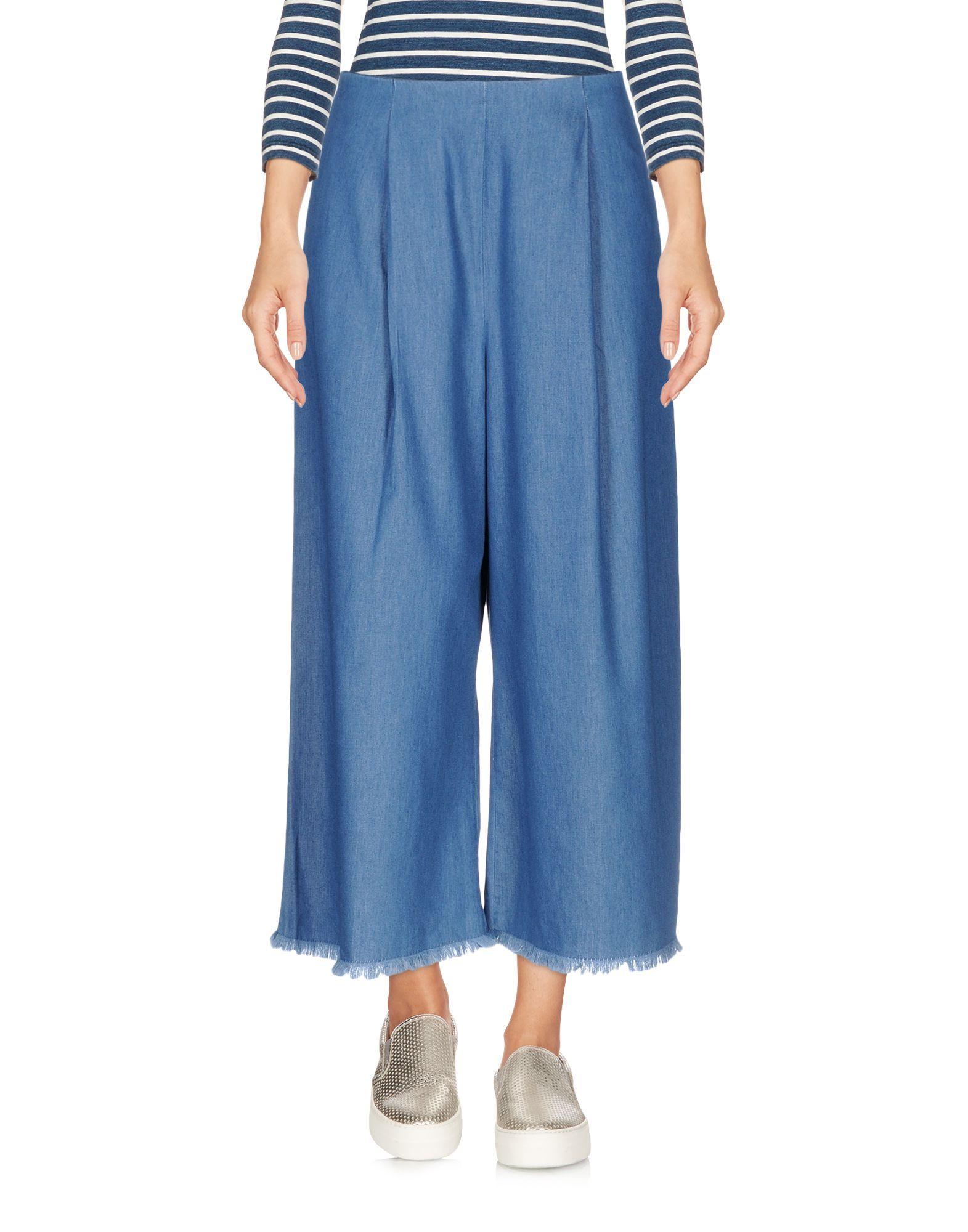 KENDALL + KYLIE Джинсовые брюки-капри start up джинсовые брюки капри