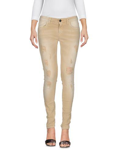 Купить Джинсовые брюки от MNML COUTURE бежевого цвета