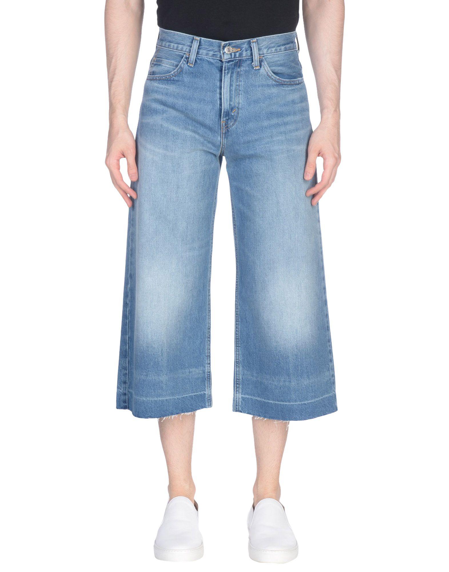 LEVI'S RED TAB Джинсовые брюки-капри цена 2017