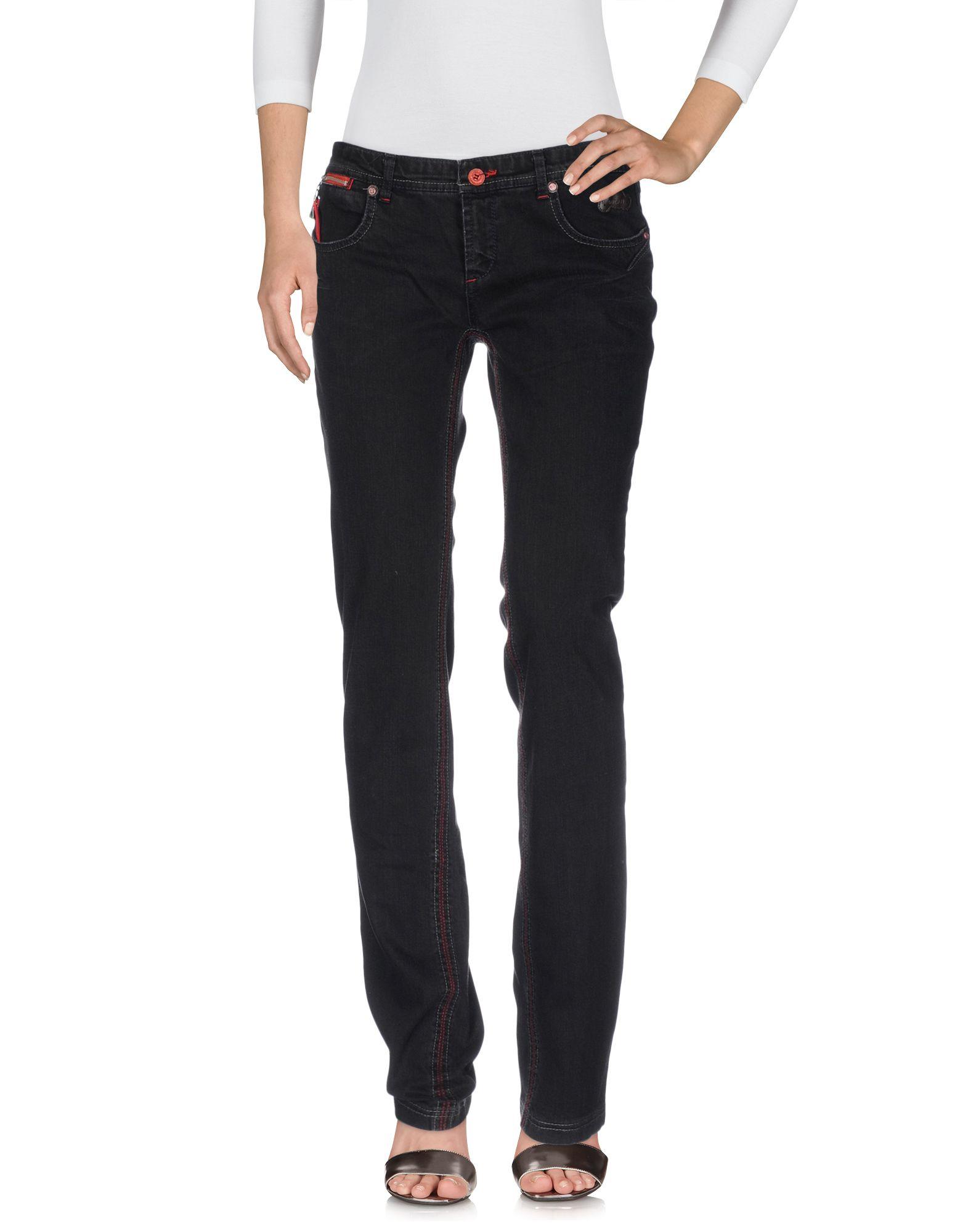 C'N'C COSTUME NATIONAL FOR DUCATI Джинсовые брюки