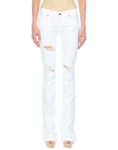 Фото - Повседневные брюки от UP ★ JEANS белого цвета