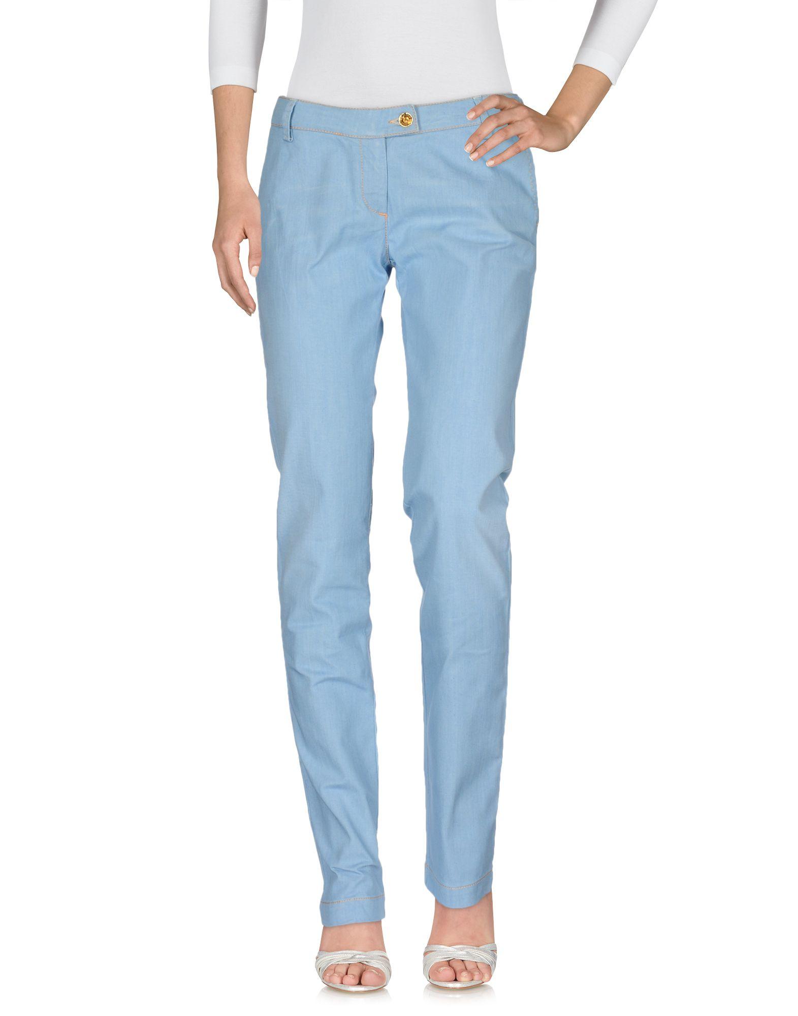 JACOB COHЁN Джинсовые брюки женские брюки лэйт светлый размер 50