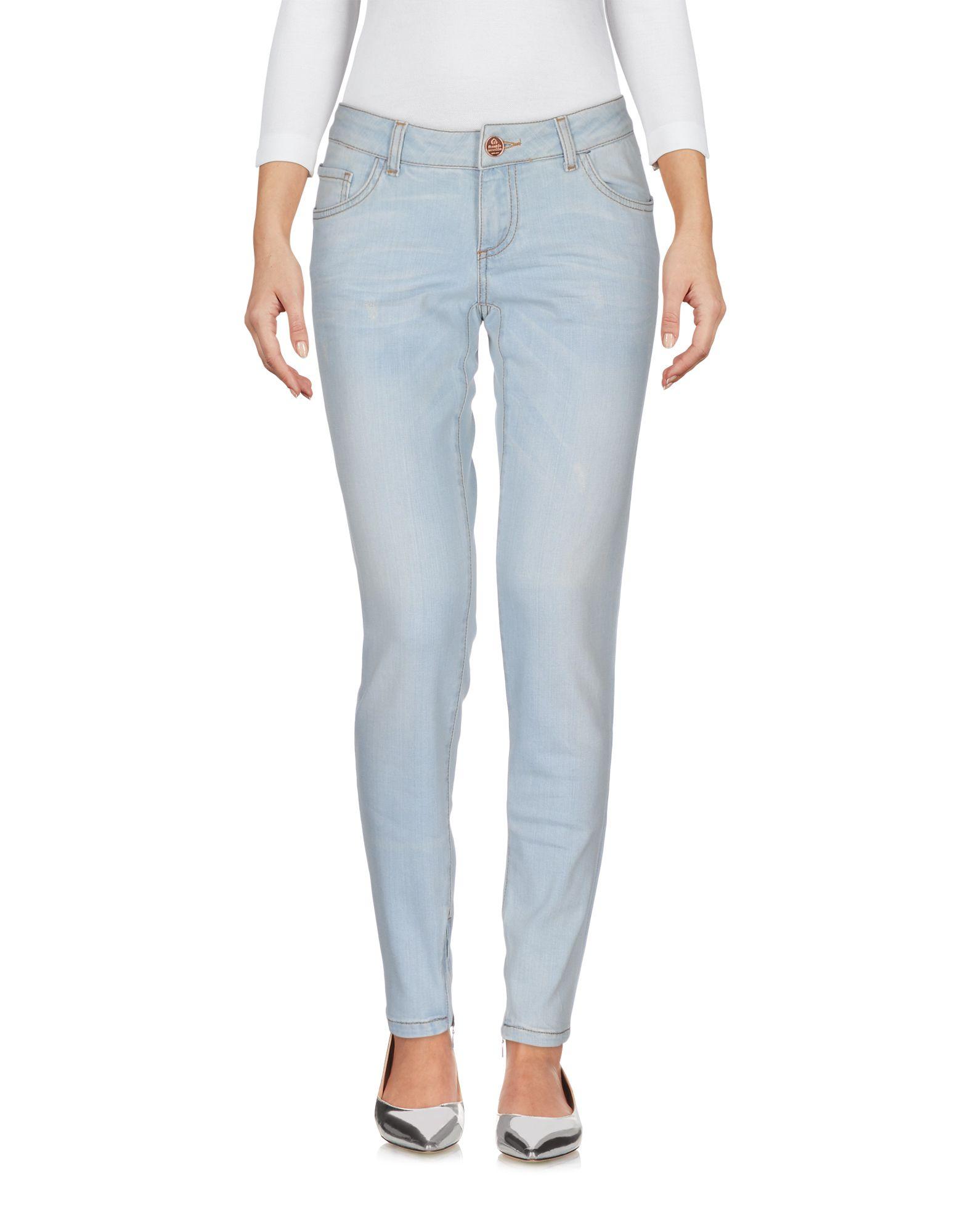 FRANKIE MORELLO Джинсовые брюки недорго, оригинальная цена