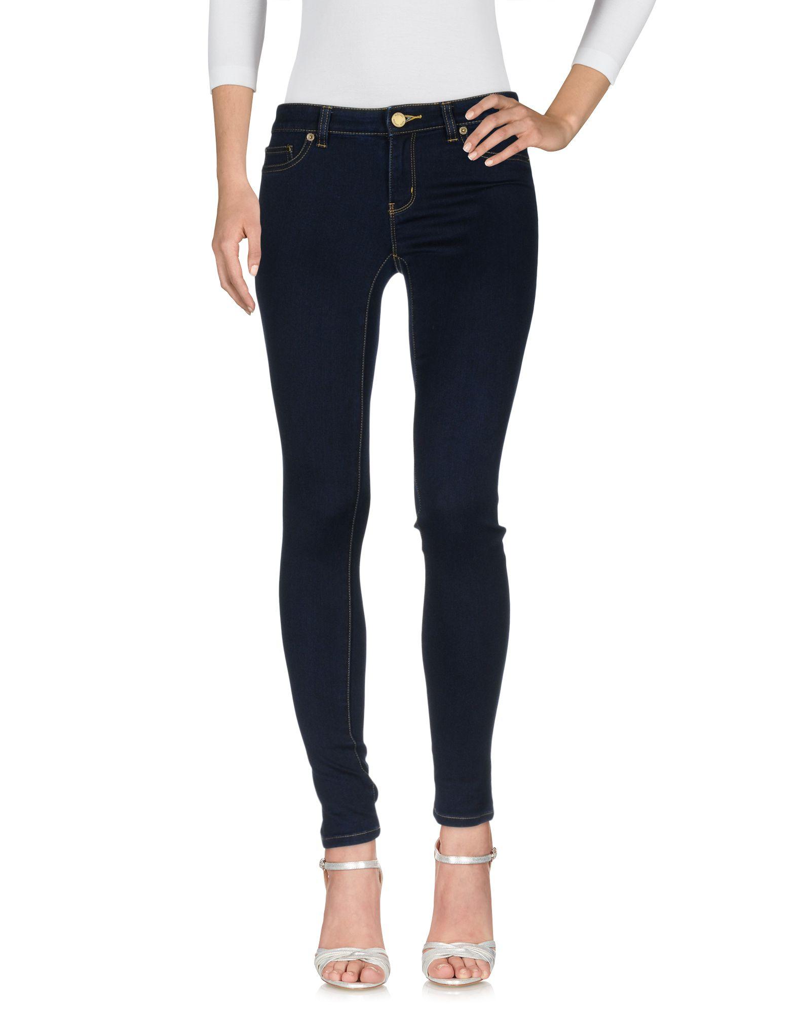 MICHAEL KORS Damen Jeanshose Farbe Blau Größe 2