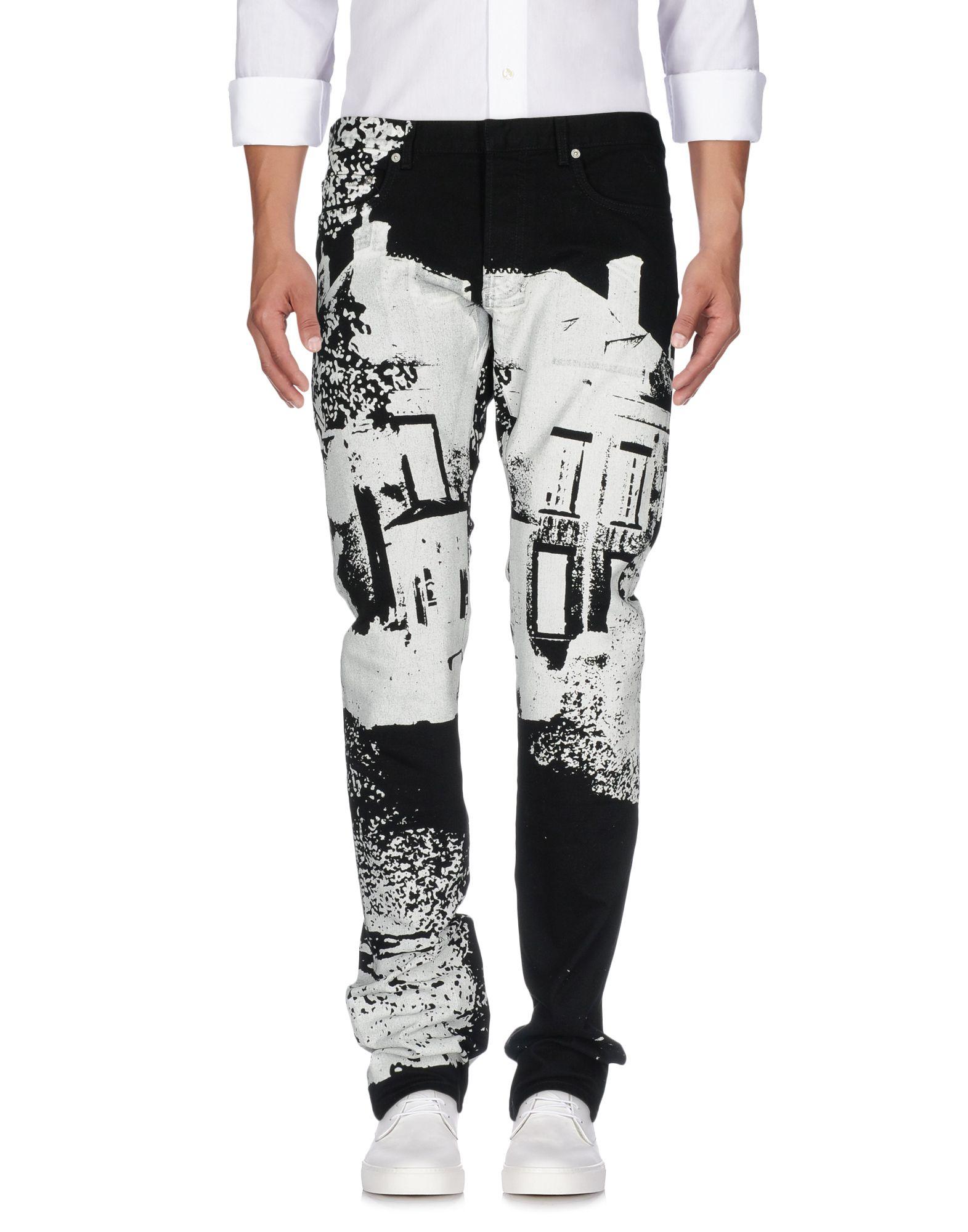 DIOR HOMME Джинсовые брюки dior homme высокие кеды и кроссовки