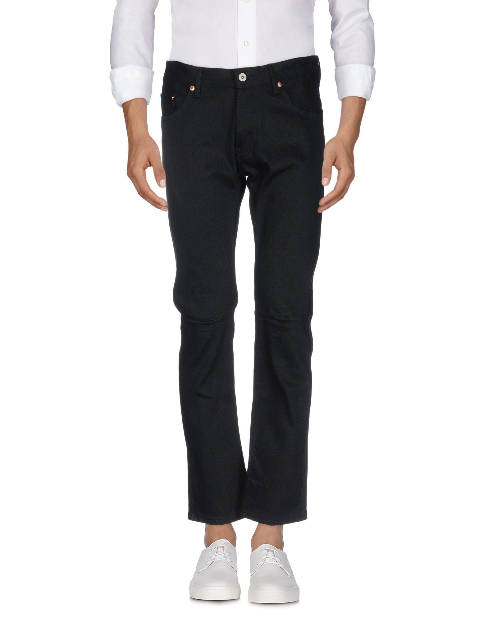 купить JUNYA WATANABE COMME des GARÇONS MAN Джинсовые брюки дешево
