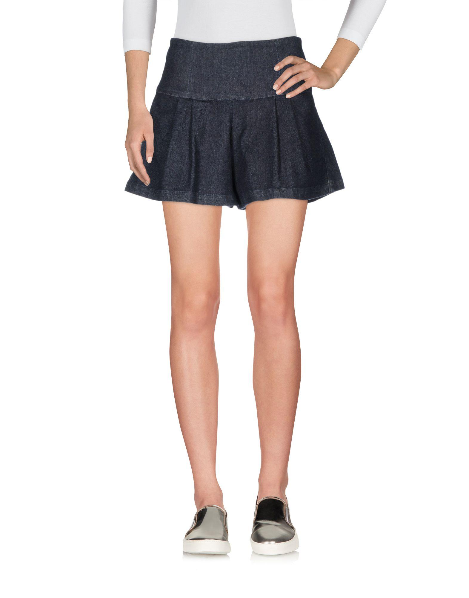 BLUE LES COPAINS Джинсовые шорты цены онлайн