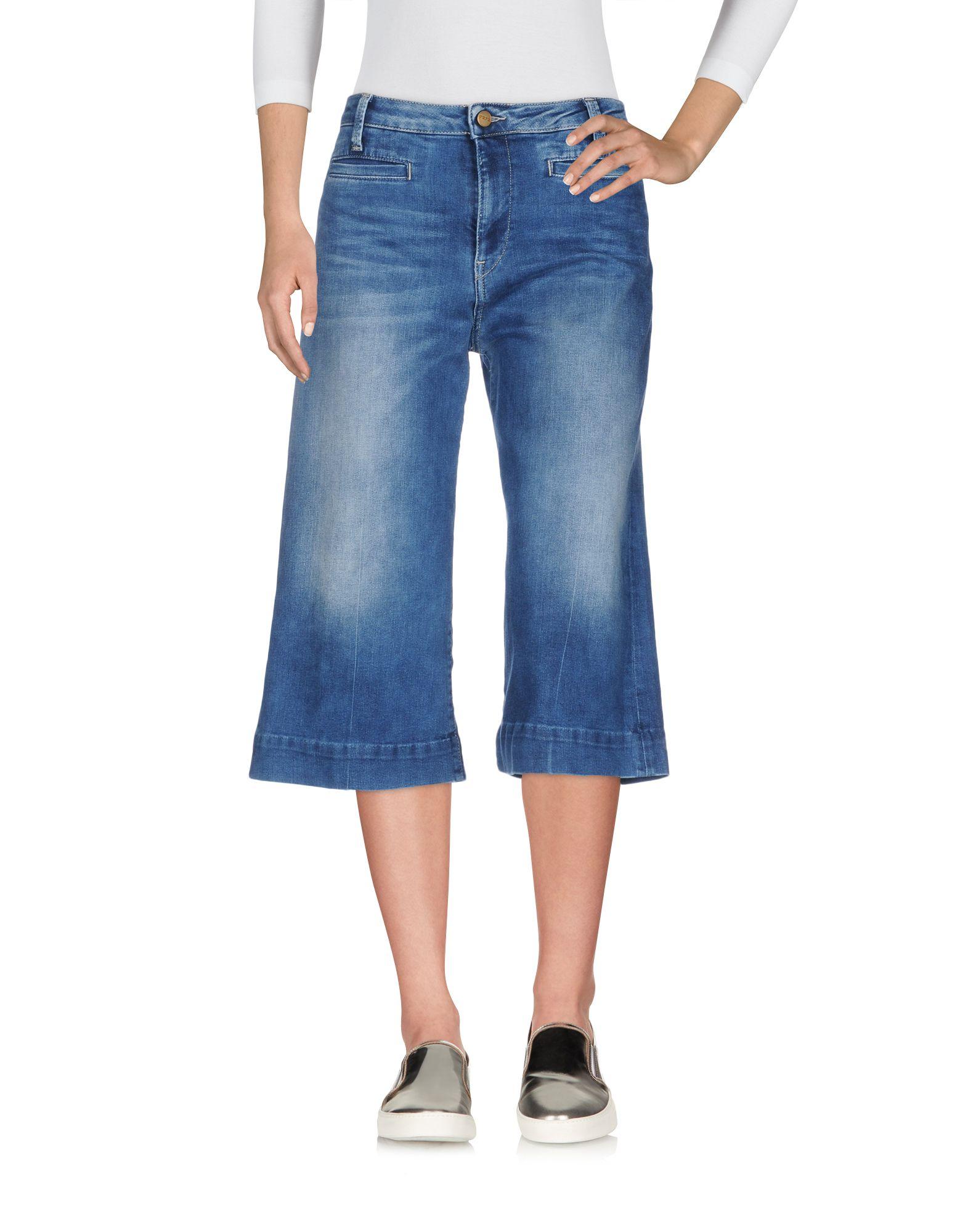 PEPE JEANS Джинсовые брюки-капри