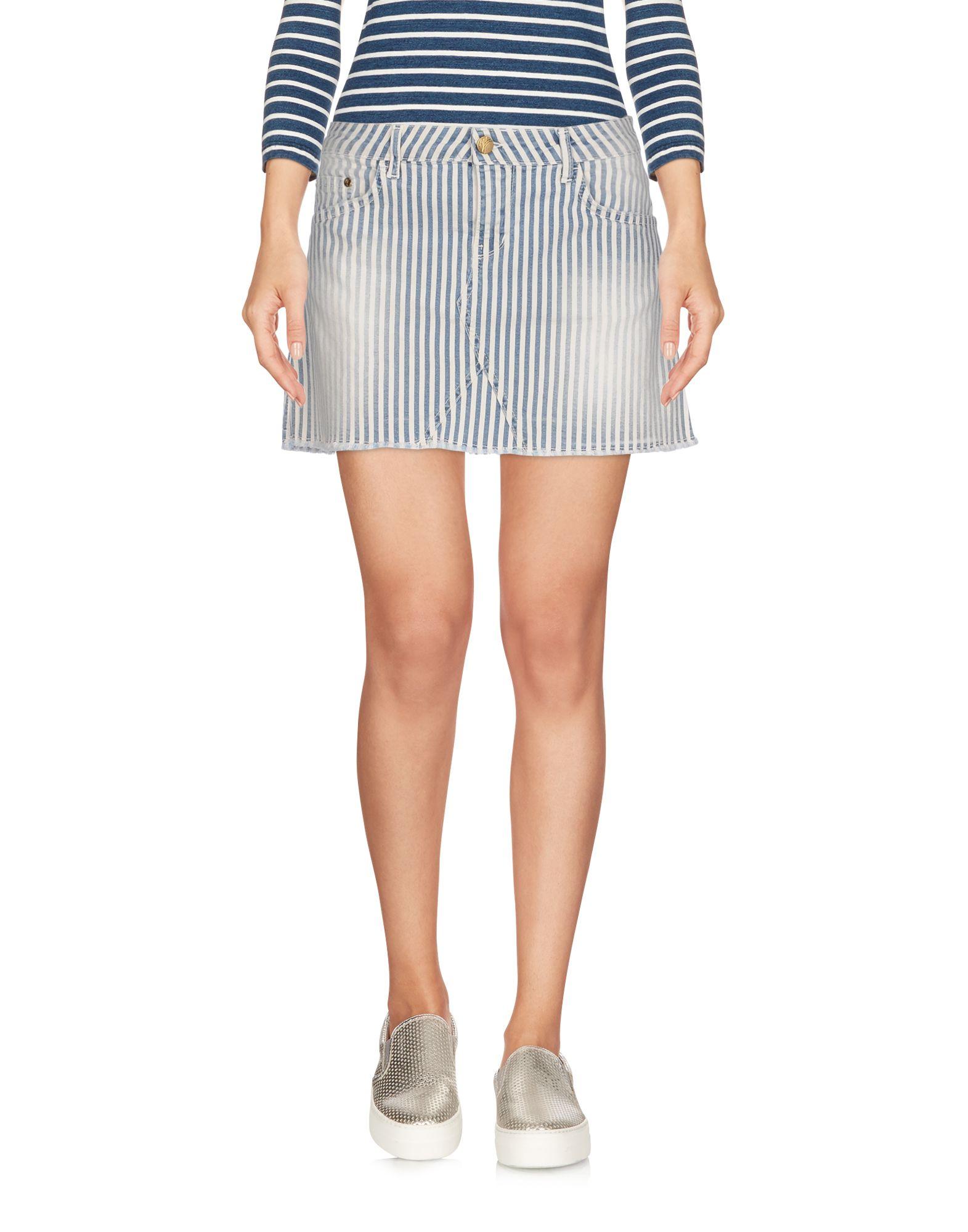 цена MANILA GRACE DENIM Джинсовая юбка онлайн в 2017 году