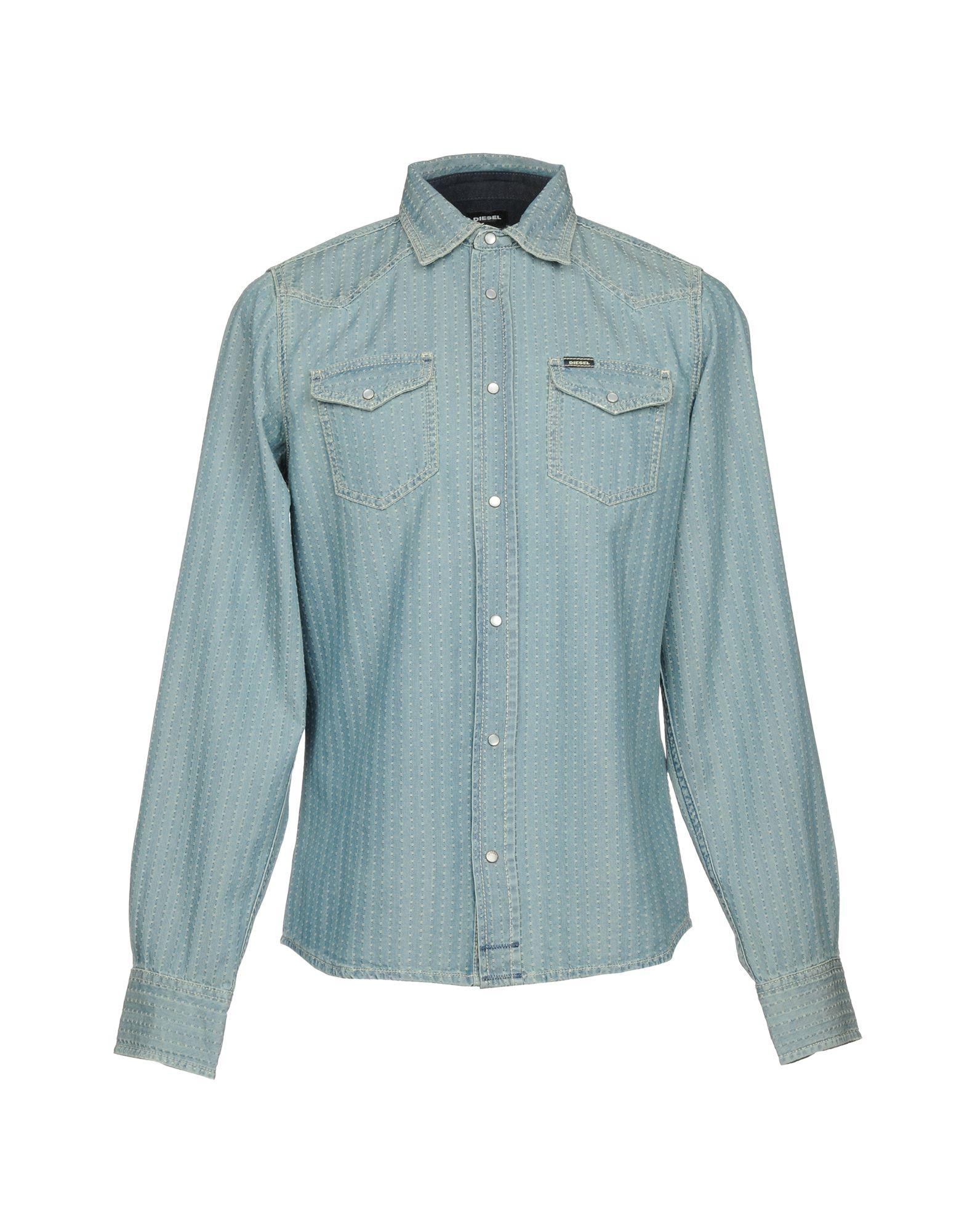 DIESEL Джинсовая рубашка рубашка diesel diesel di303emrxw49