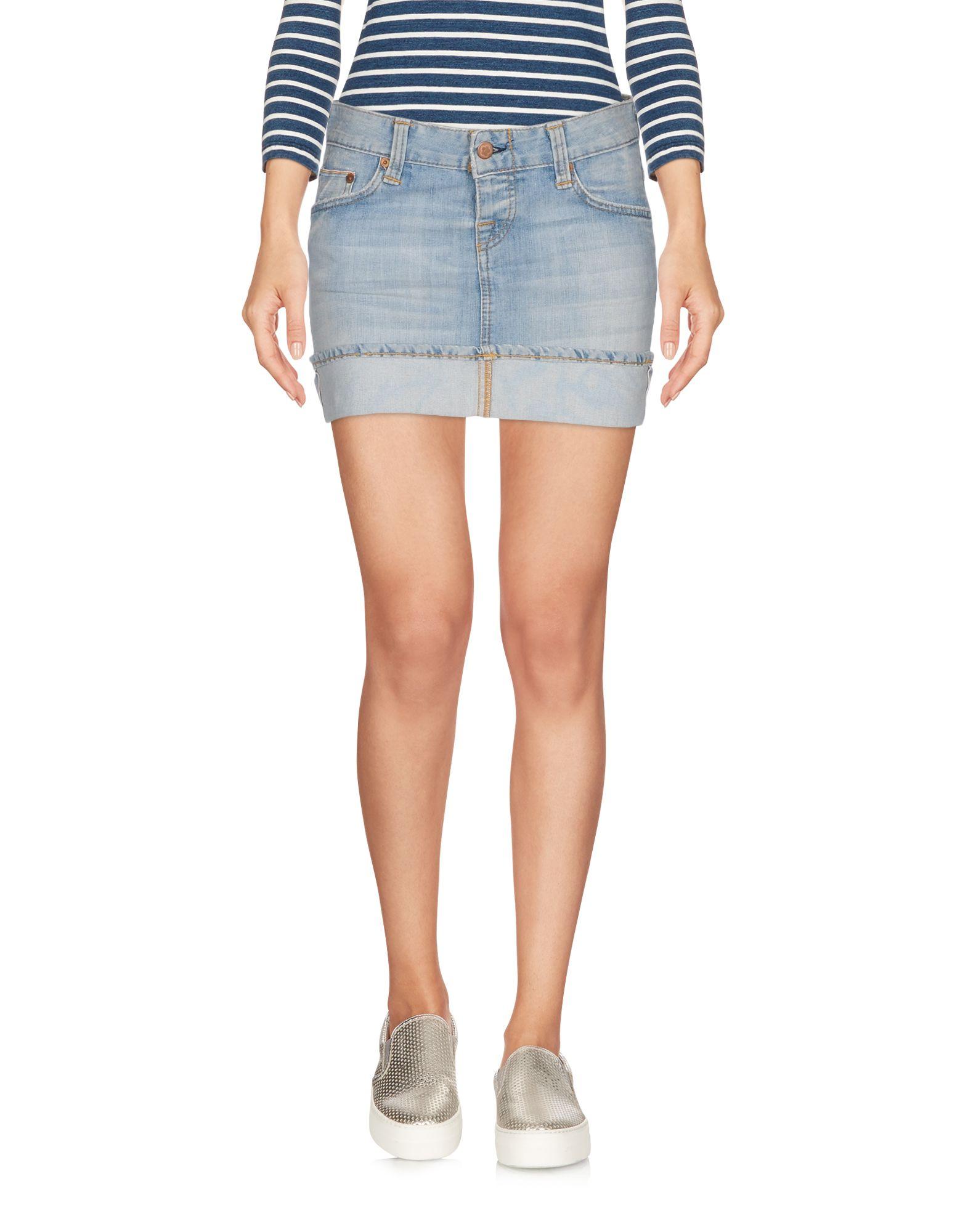 купить CARE LABEL Джинсовая юбка дешево