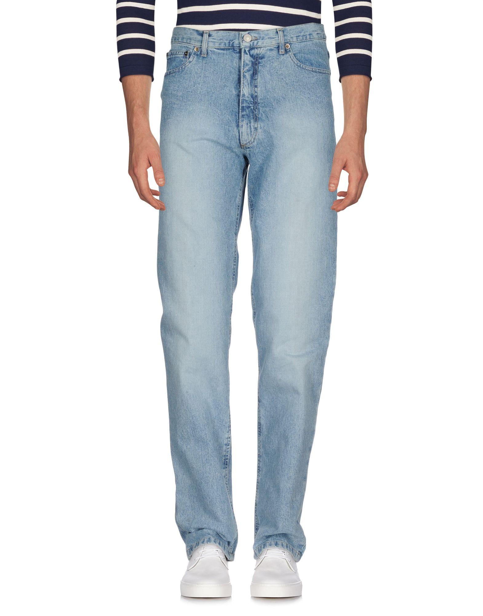 《送料無料》FRED PERRY メンズ ジーンズ ブルー 50 コットン 100%