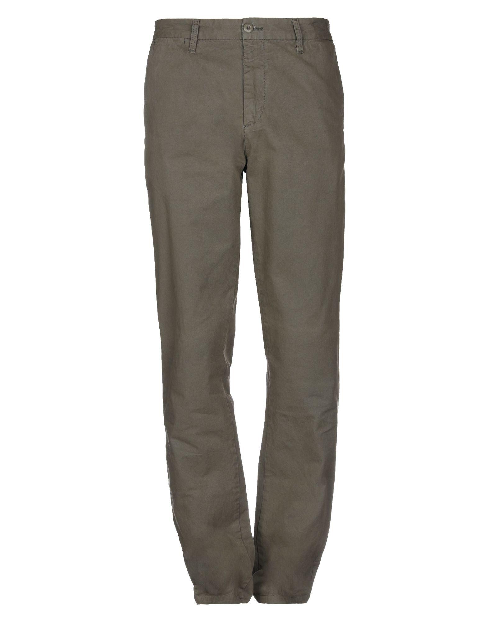 《セール開催中》CARHARTT メンズ パンツ ミリタリーグリーン 32W-34L コットン 100%