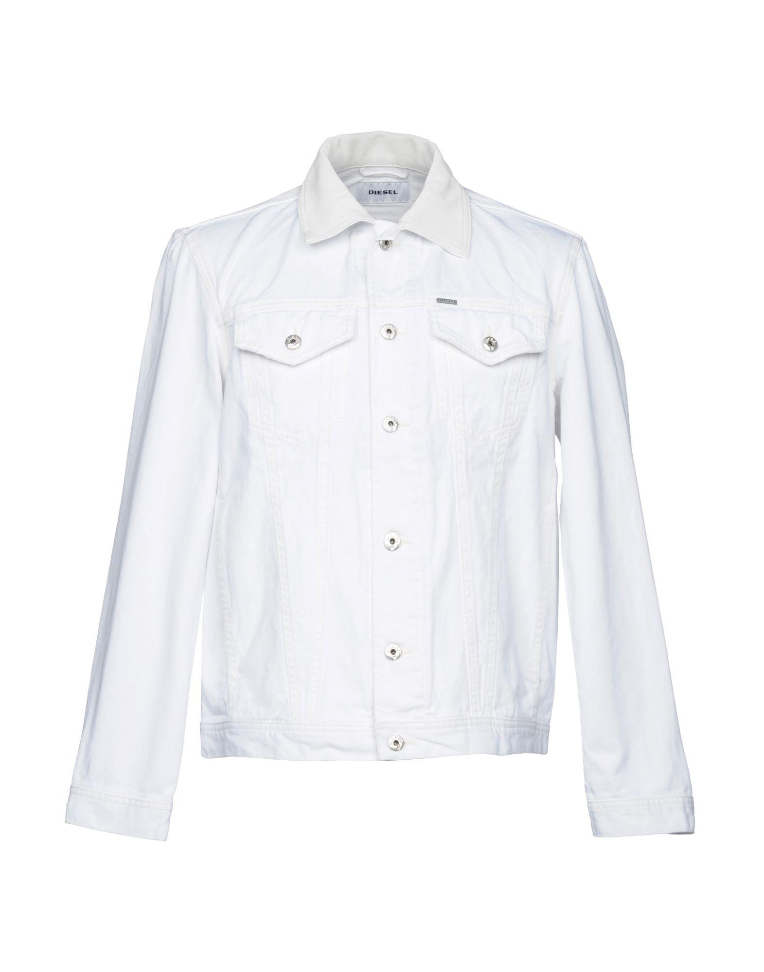 цена DIESEL Джинсовая верхняя одежда онлайн в 2017 году