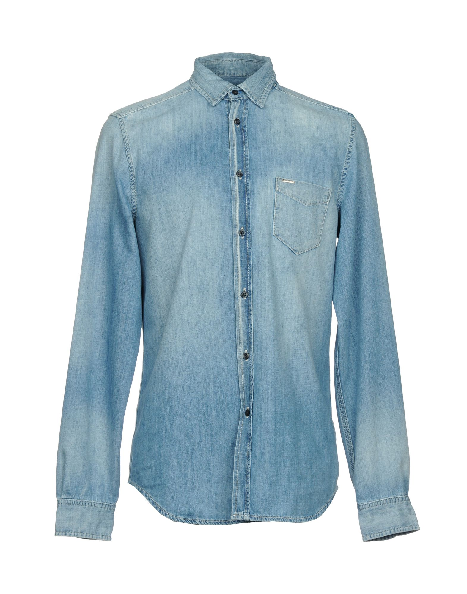 DIESEL Джинсовая рубашка рубашка джинсовая diesel diesel di303ewwlc75