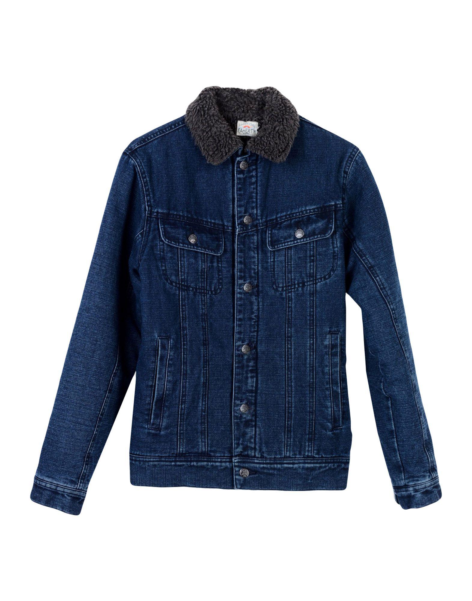 FAHERTY Джинсовая верхняя одежда colmar джинсовая верхняя одежда