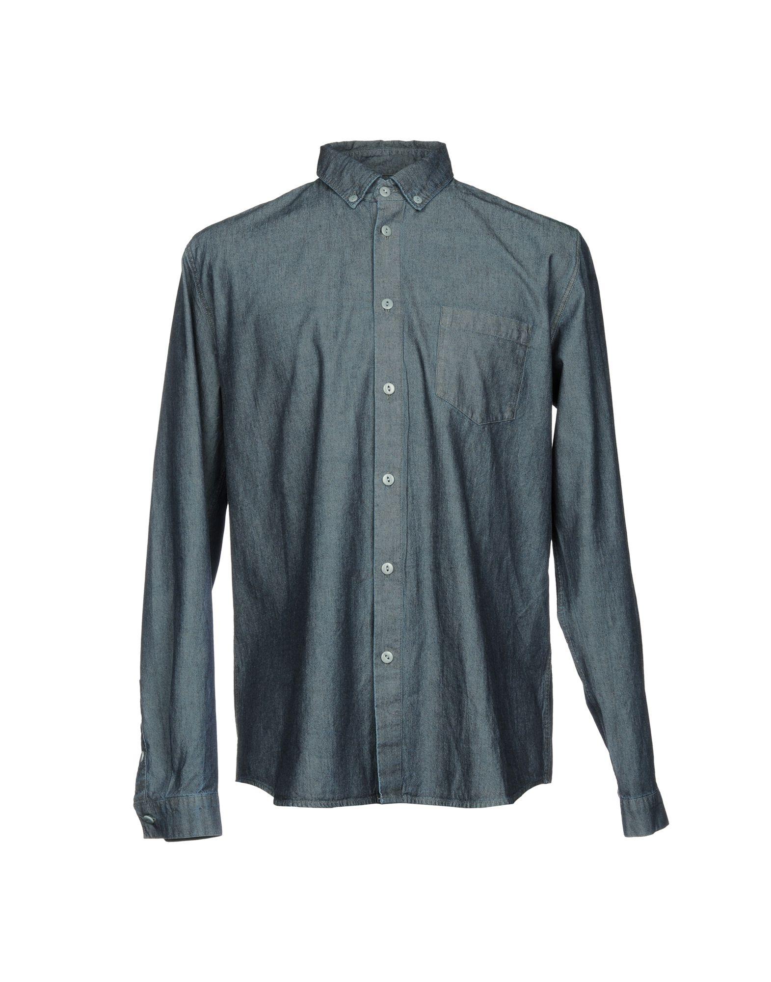 FOLK Джинсовая рубашка folk medicinal