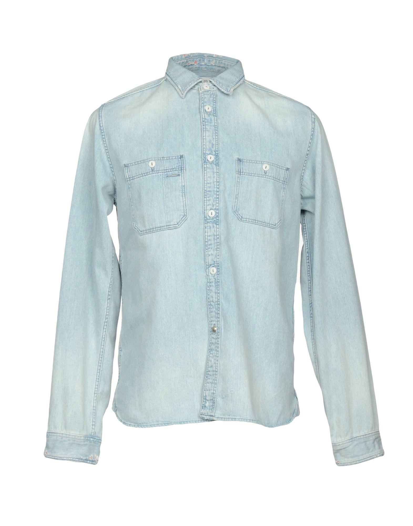 RON HERMAN Джинсовая рубашка