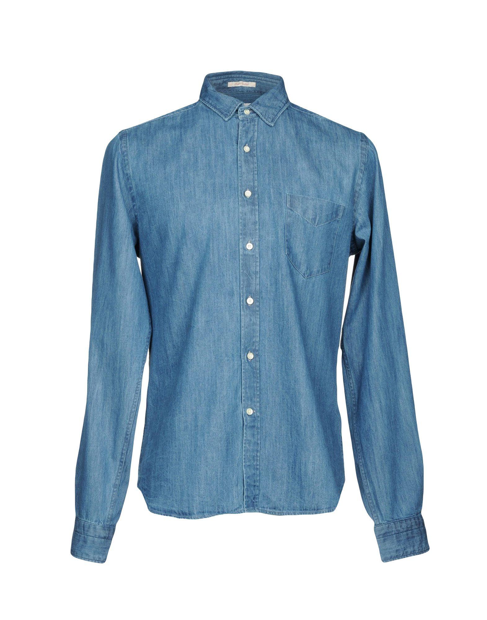GANT RUGGER Джинсовая рубашка рубашка gant gant ga121emwjz56 page 10