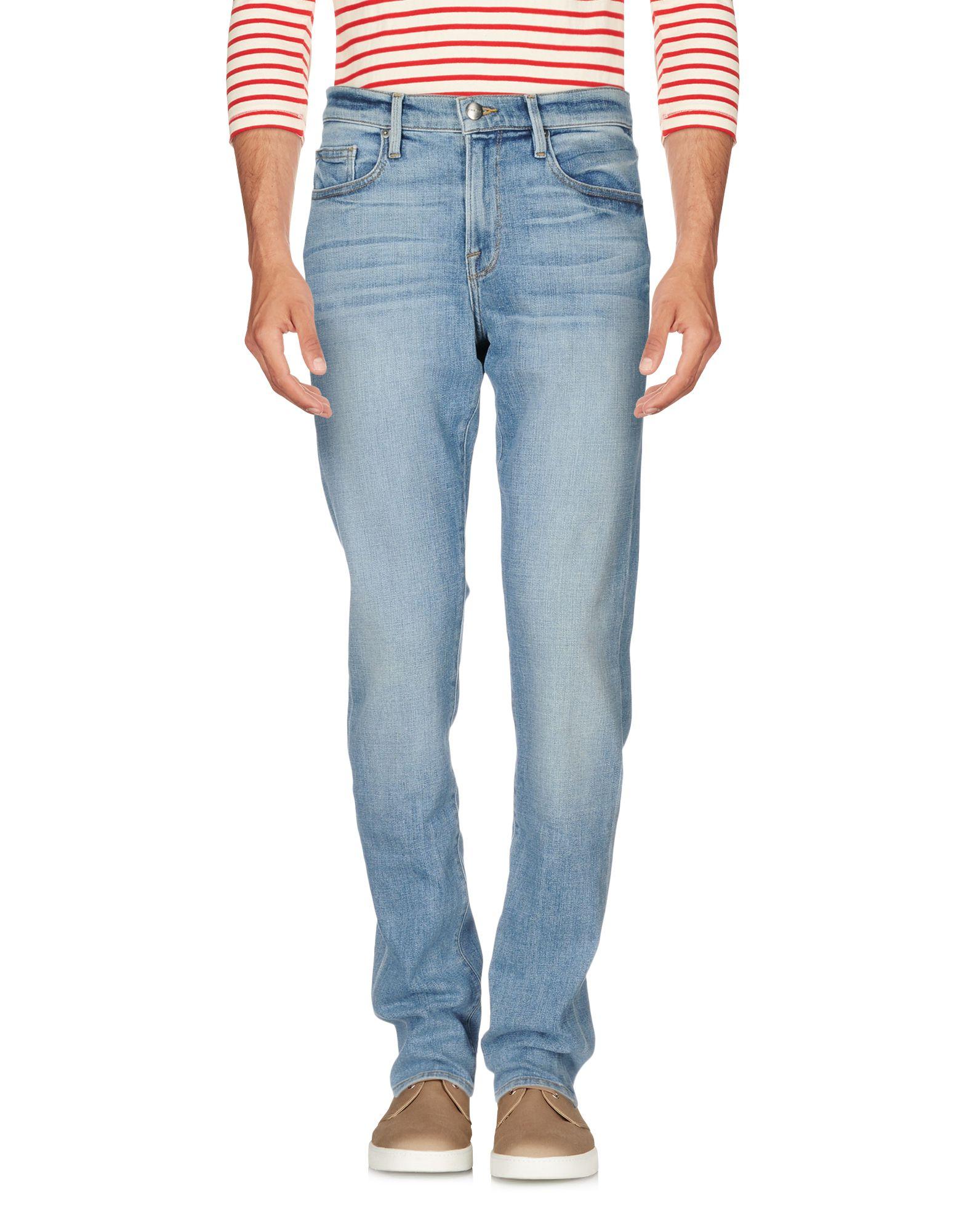 FRAME Джинсовые брюки женские брюки лэйт светлый размер 56