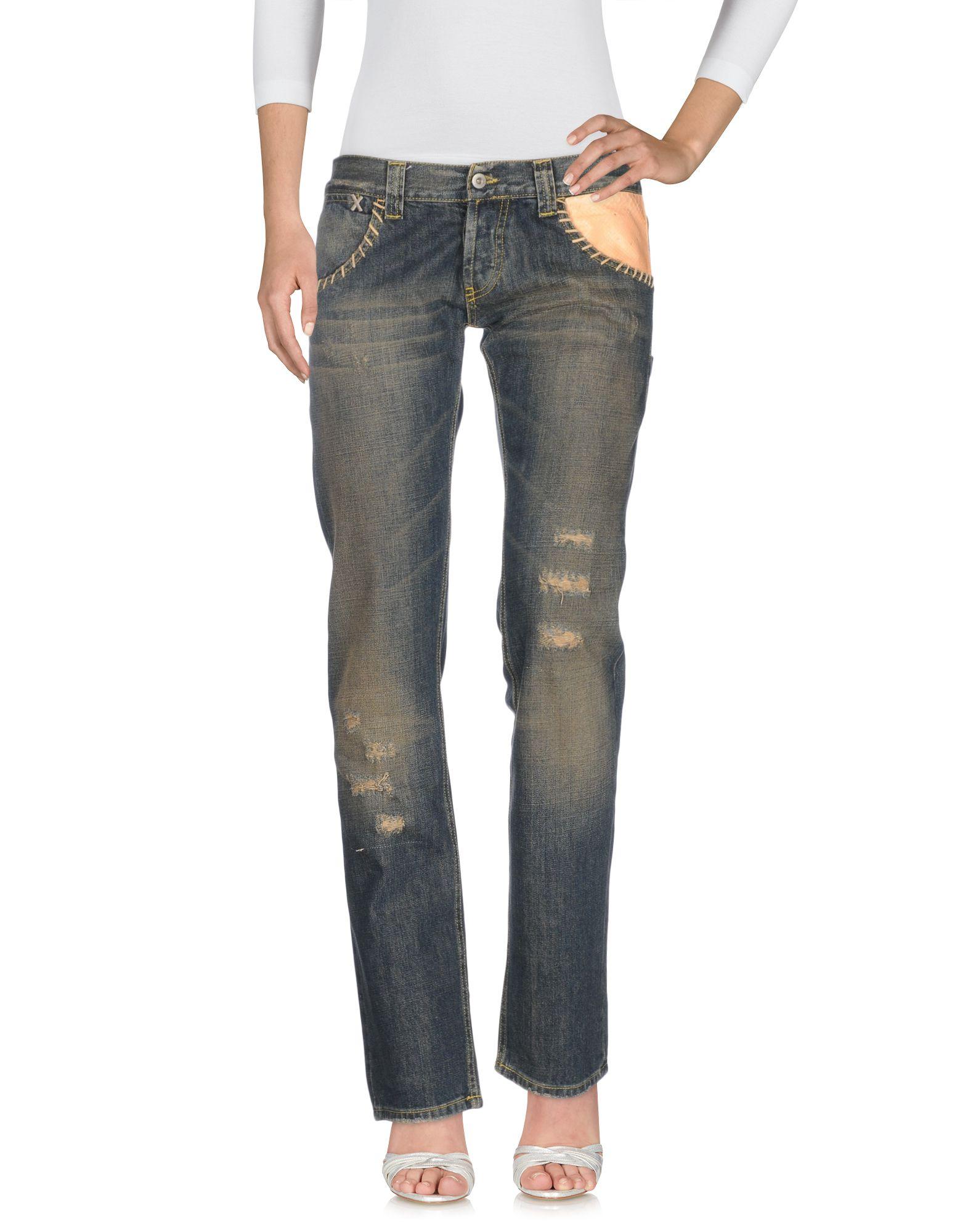MONICA BIANCO Damen Jeanshose Farbe Blau Größe 5