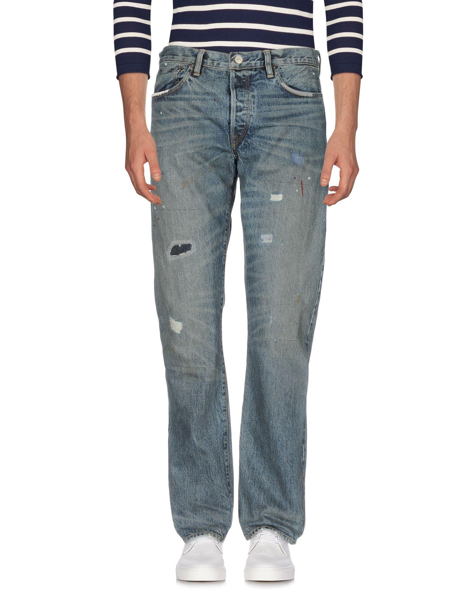 RON HERMAN Джинсовые брюки женские брюки лэйт светлый размер 56