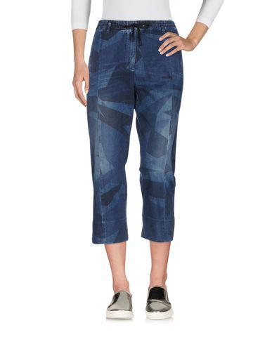 HYDROGEN Pantacourt en jean femme