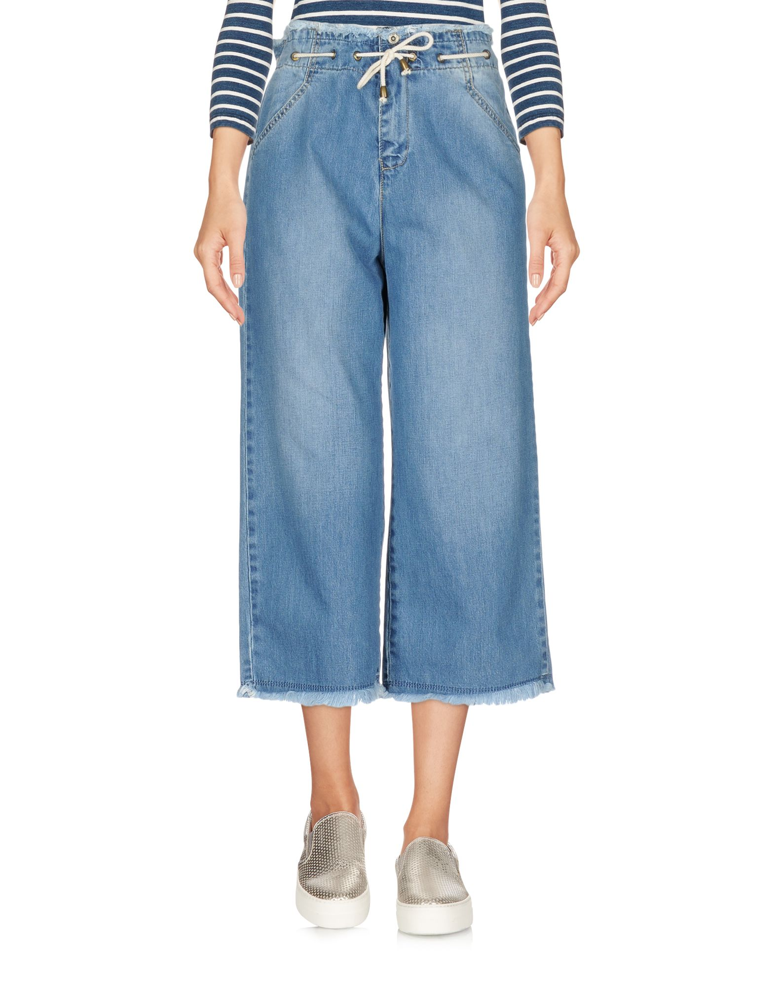 BERNA Джинсовые брюки-капри
