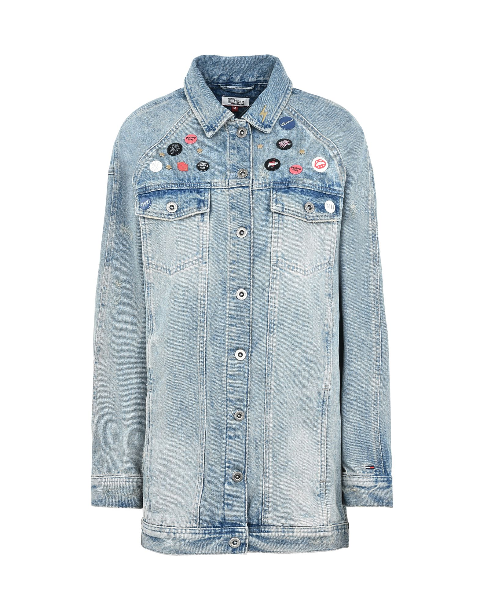 TOMMY HILFIGER DENIM Джинсовая верхняя одежда футболка tommy hilfiger denim tommy hilfiger denim to013ewtpb98