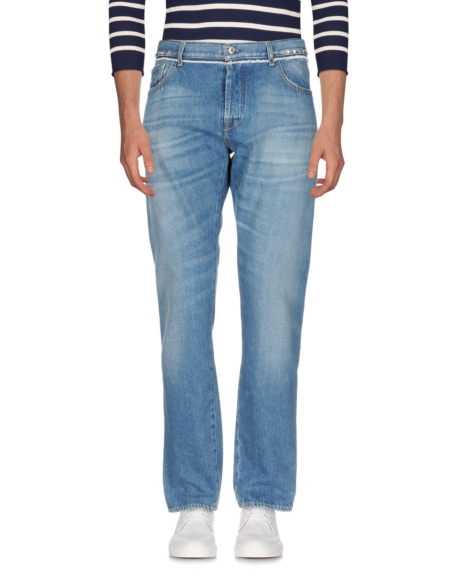 VALENTINO Джинсовые брюки женские брюки лэйт светлый размер 50
