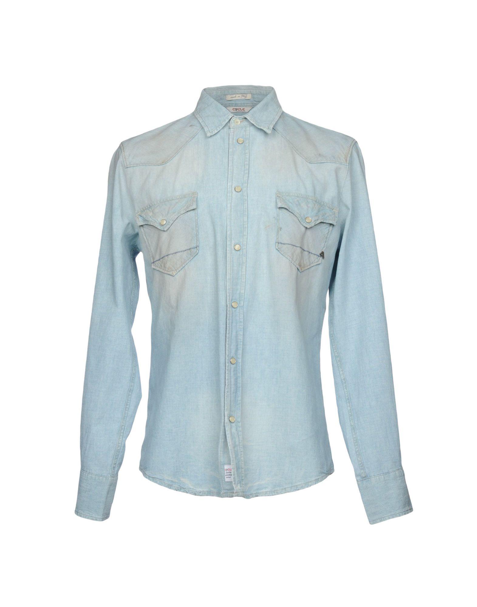 CYCLE Джинсовая рубашка рубашка джинсовая 3 12 лет