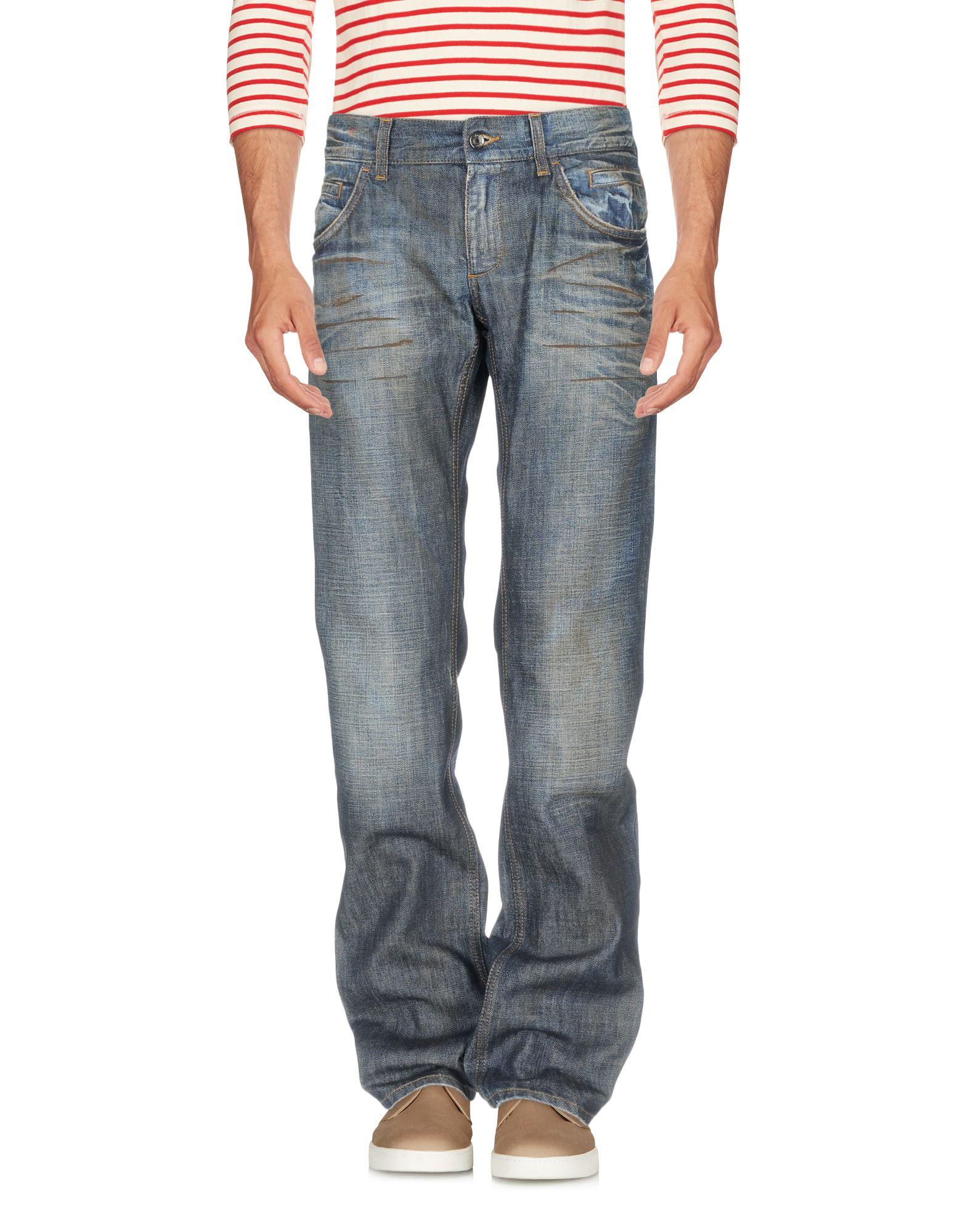 DOLCE & GABBANA Herren Jeanshose Farbe Blau Größe 2