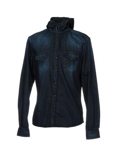 Джинсовая рубашка от 19 DIX-NEUF