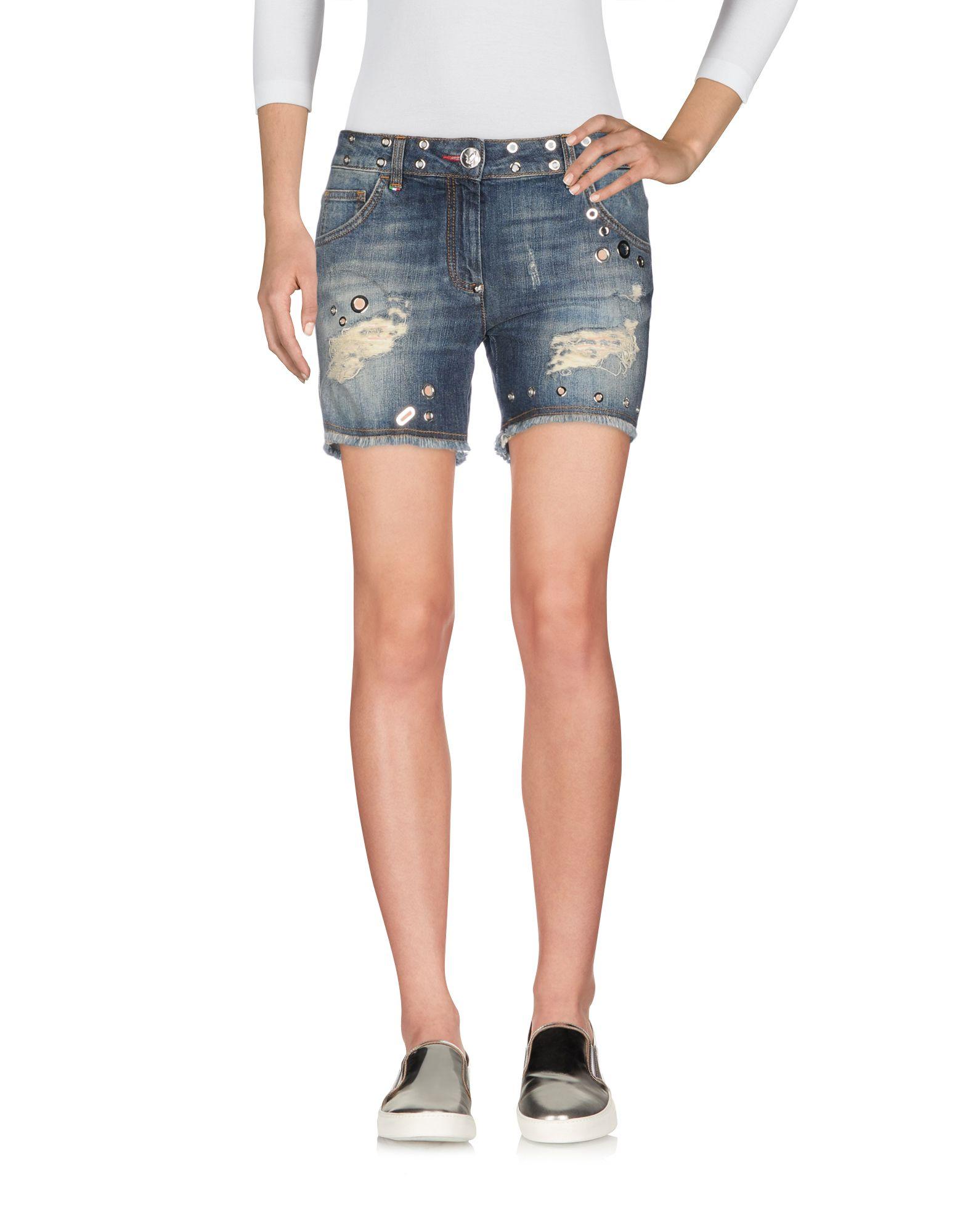PHILIPP PLEIN Джинсовые шорты шорты джинсовые lonsdale lonsdale lo789emcdg82