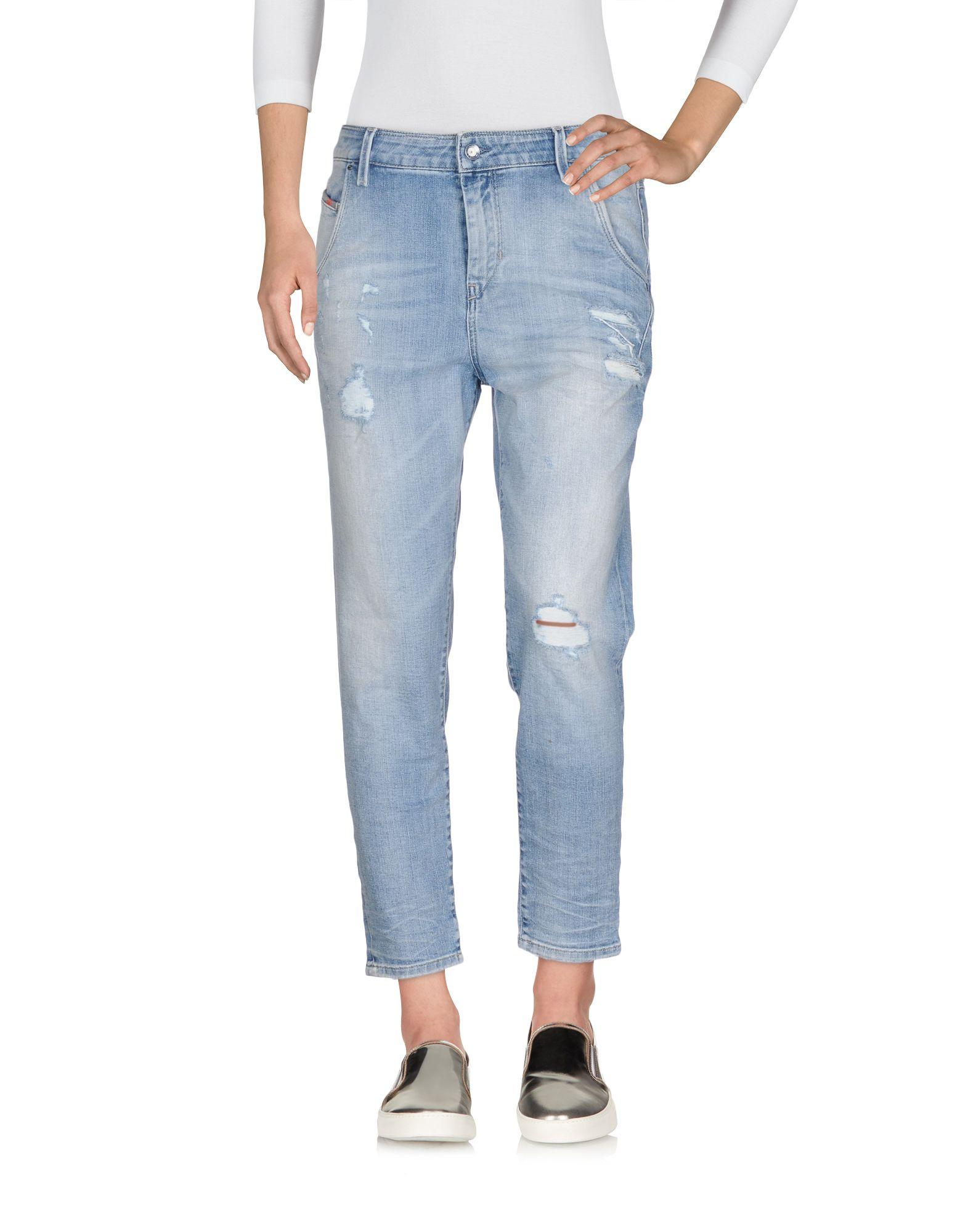 DIESEL Джинсовые брюки-капри