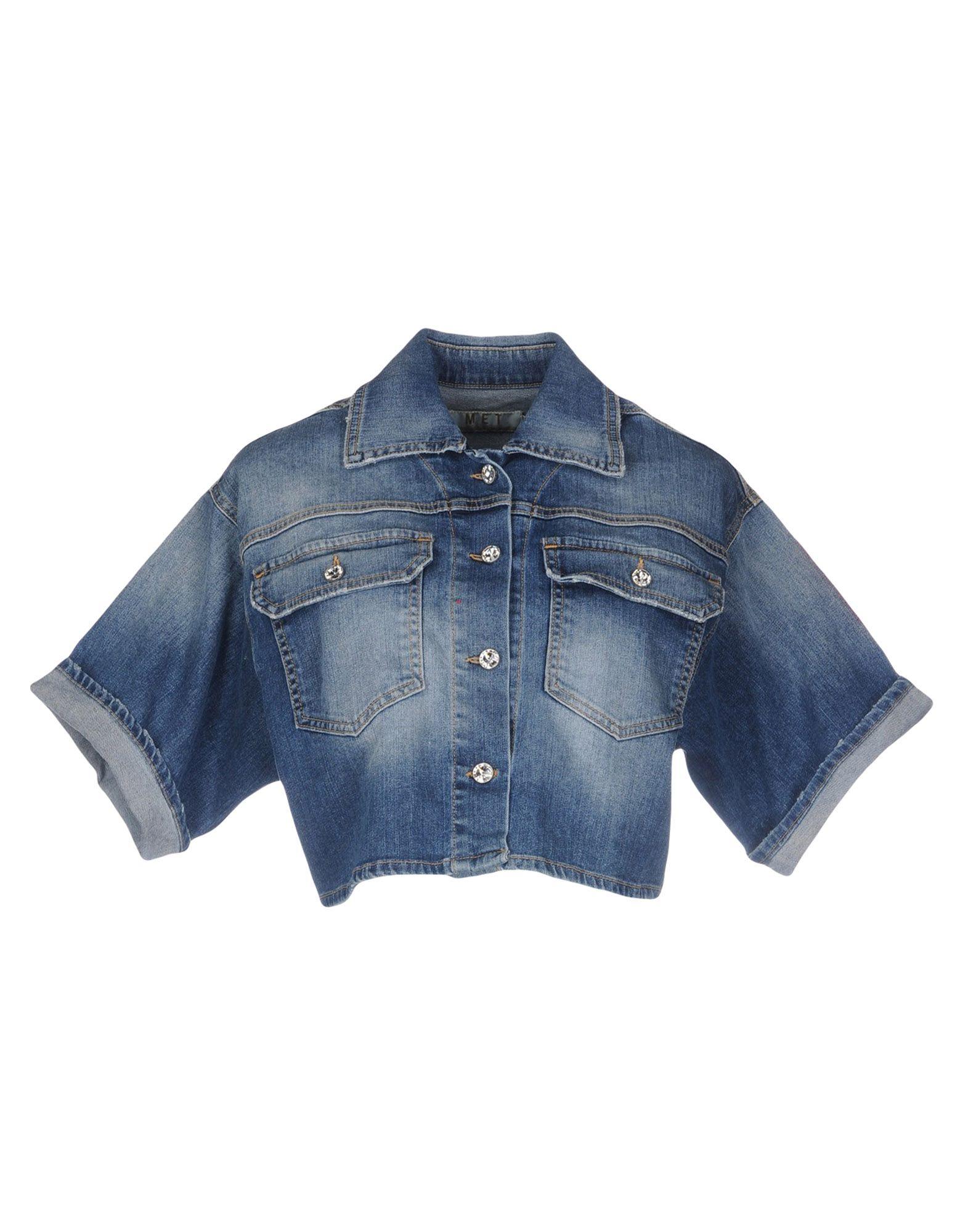 MET Джинсовая верхняя одежда colmar джинсовая верхняя одежда