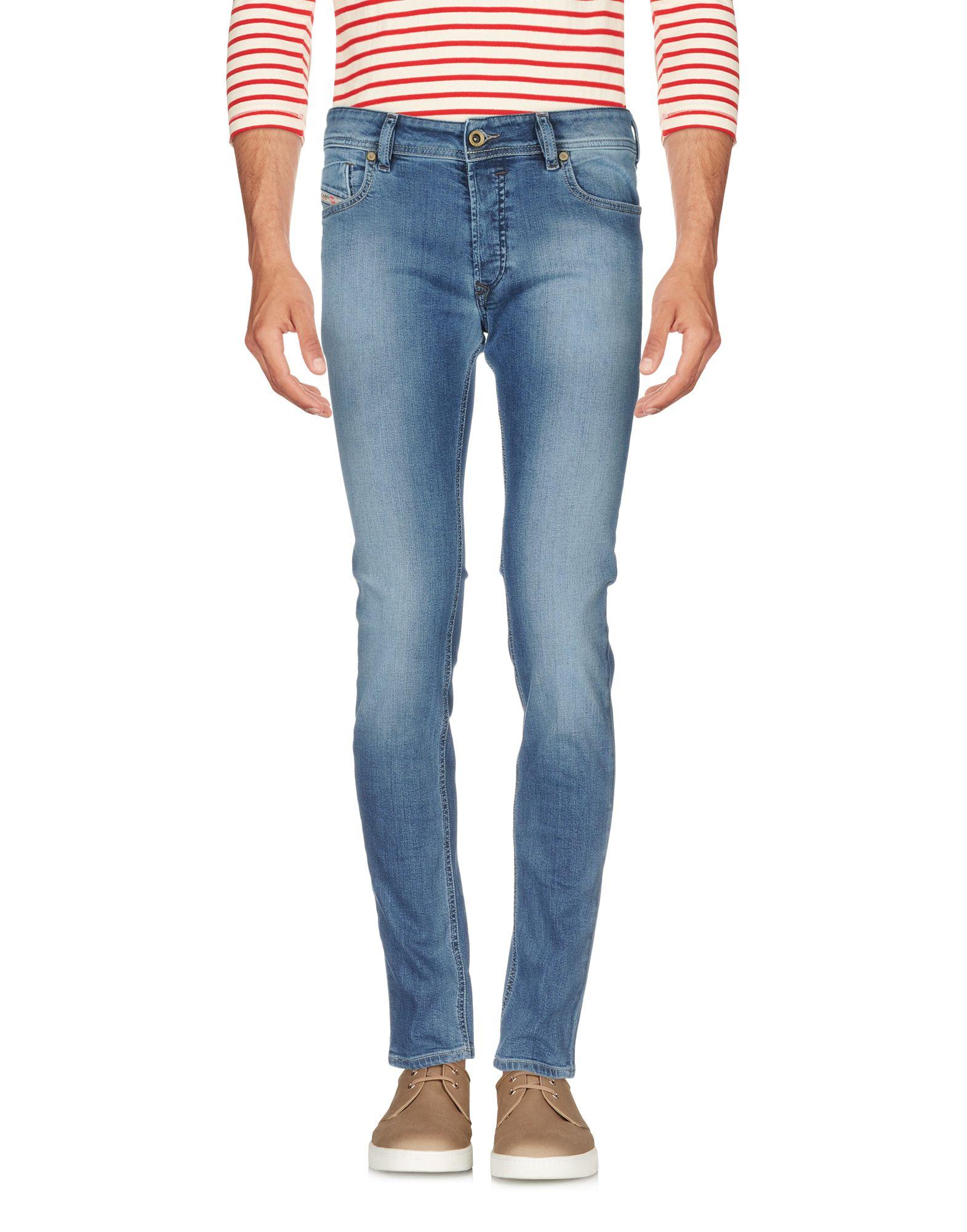 DIESEL Джинсовые брюки женские брюки лэйт светлый размер 56