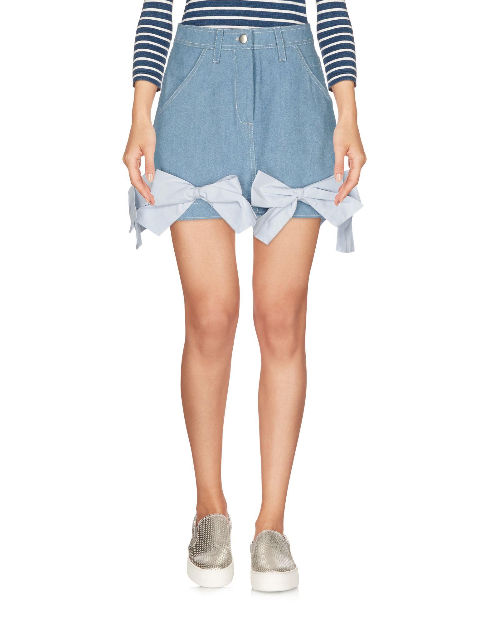 ANNA K Denim Skirt in Blue