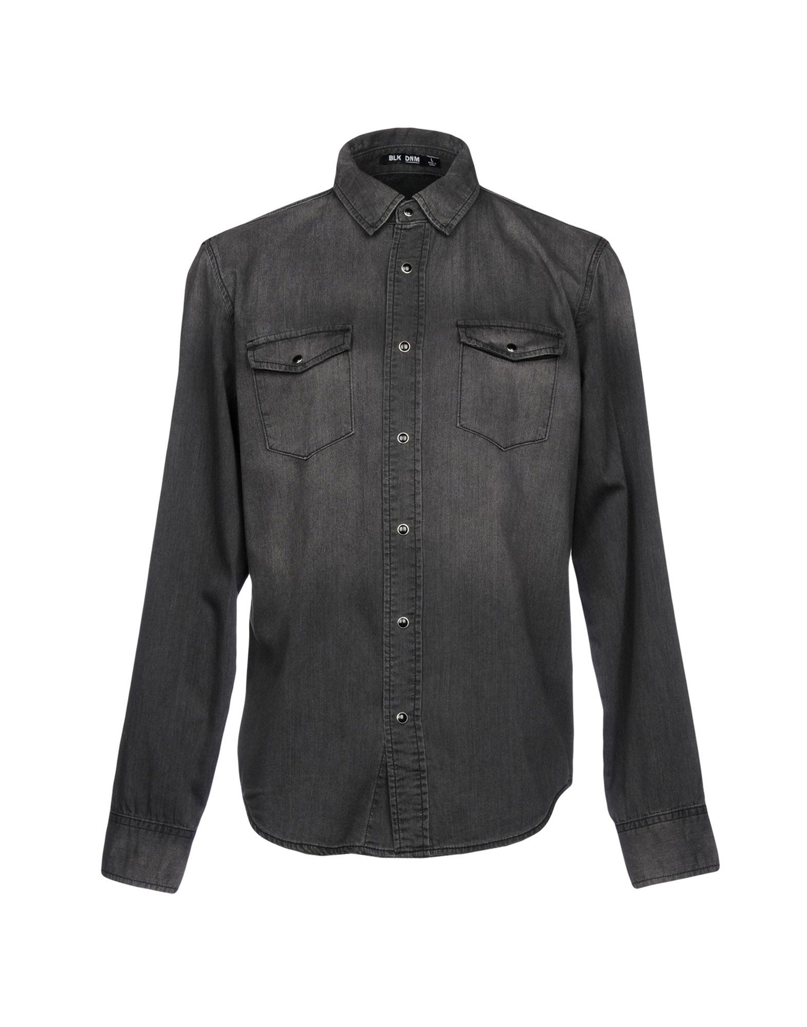 BLK DNM Джинсовая рубашка цена 2017