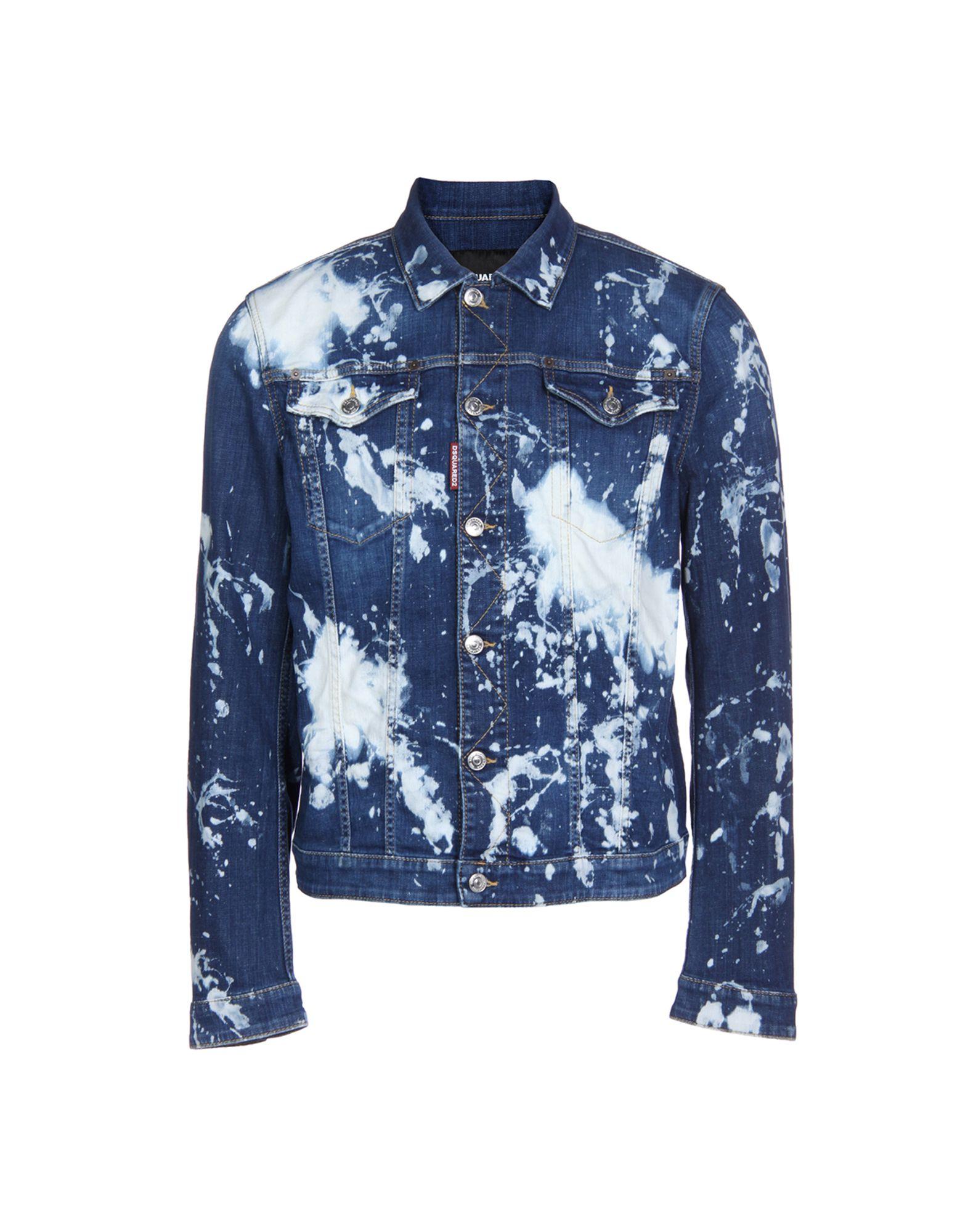 Фото - DSQUARED2 Джинсовая верхняя одежда goldsign джинсовая верхняя одежда
